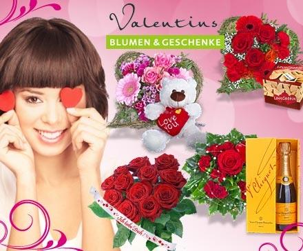 DailyDeal: 13€ Gutschein für den Blumenversand valentins.de für nur 6,50€!! Blumensträuße zum Valentinstag!