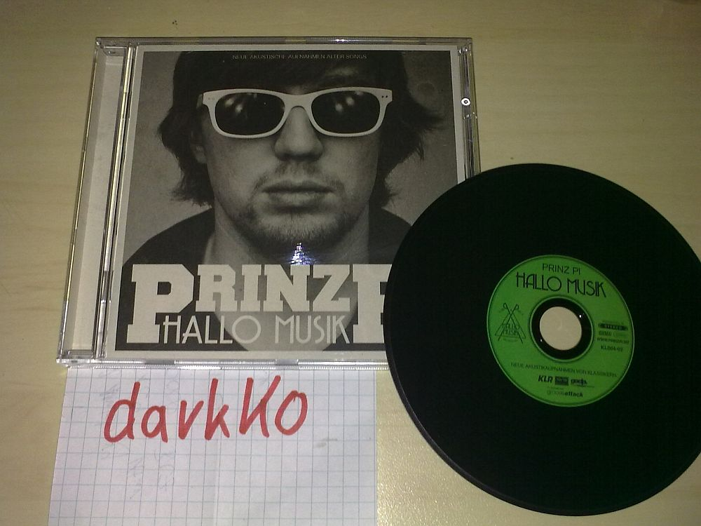 Cover: Prinz Pi - Hallo Musik (LossLess) (2011)