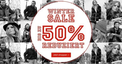 Tom Tailor: Winter Sale mit bis zu 50% Rabatt + extra 10% Rabatt Gutschein aus Newsletter - Klamotten