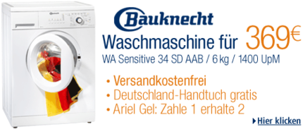 Bauknecht WA34SD