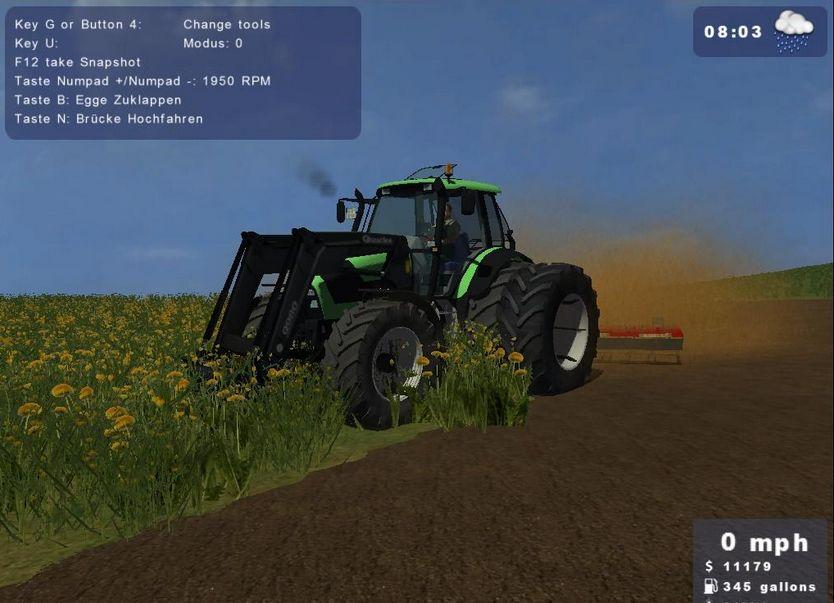 Deutz-Fahr Agrotron 140 FL Quicke Q980