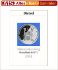 Dietzel Münzkatalog Deutschland ab 1871 bis 2003
