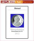 Dietzel Münzkatalog Deutschland ab 1871 - 2012 NEU
