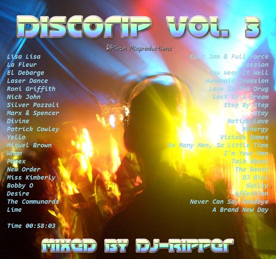 Dj  Ripper - Discorip Vol. 3