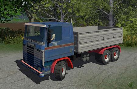 Scania 143R Cab