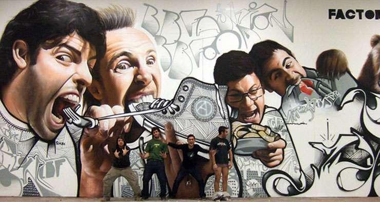 Mistrzowskie graffiti 15
