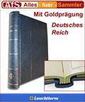 Leuchtturm Klemmbinder DL 20 Deutsches Reich