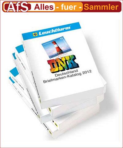 Leuchtturm DNK Briefmarkenkatalog 2012