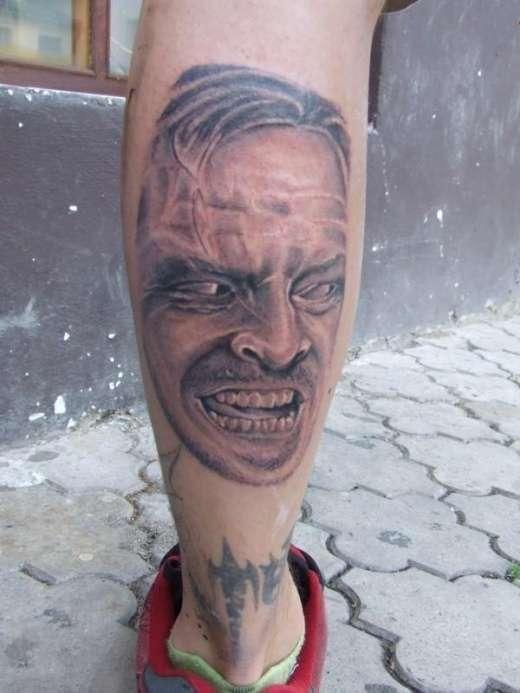 Tatuaże z twarzami gwiazd 7