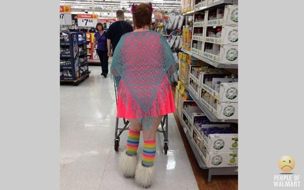 Najdziwniejsi klienci z WalMart #14 27