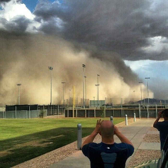 Burza piaskowa w Arizonie 7