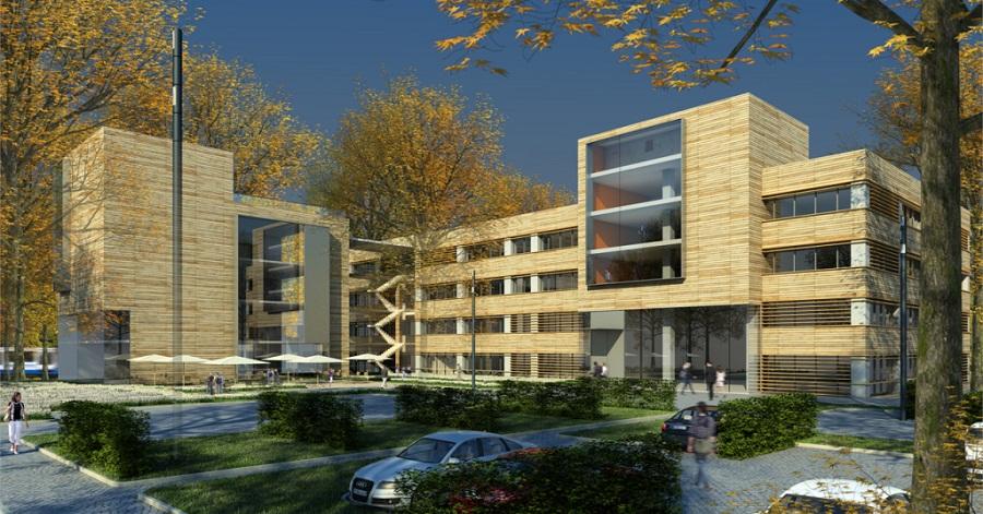 Dortmund westfalenkontor in planung deutsches for Architektur 80er jahre