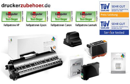 qypedeals: 16€ Gutschein für druckerzubehoer.de für nur 7€ - Drucker-Patroner, Toner (HP, Lexmark, Canon usw.)