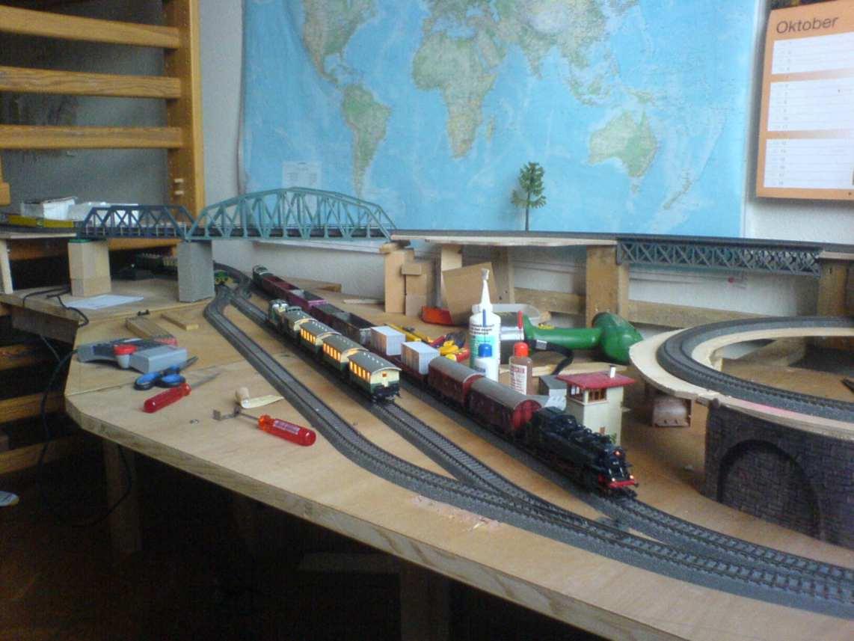 Jura bahn: mein baubericht   stummis modellbahnforum