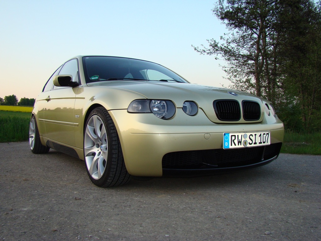 lady liner 3er bmw e46 compact tuning fotos. Black Bedroom Furniture Sets. Home Design Ideas