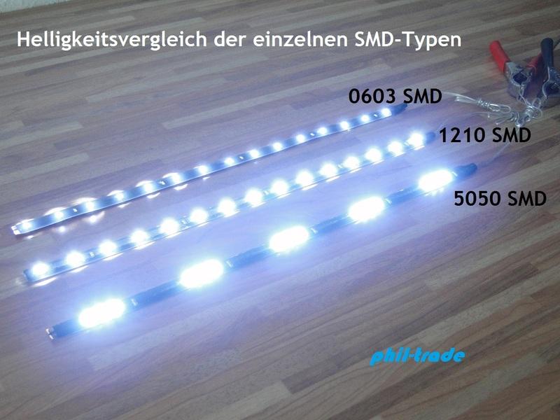 100cm led leiste strip lichtleiste 24v lkw warm weiss 30x5050 smd selbstklebend ebay. Black Bedroom Furniture Sets. Home Design Ideas