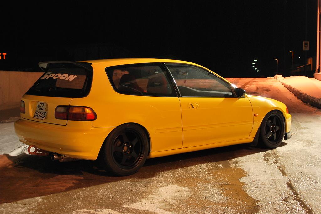 German Civic EG Hatchback Spoon like EG3 - Honda-Tech ...