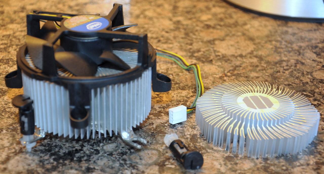 Umbau LGA775 Kühler auf LG1155