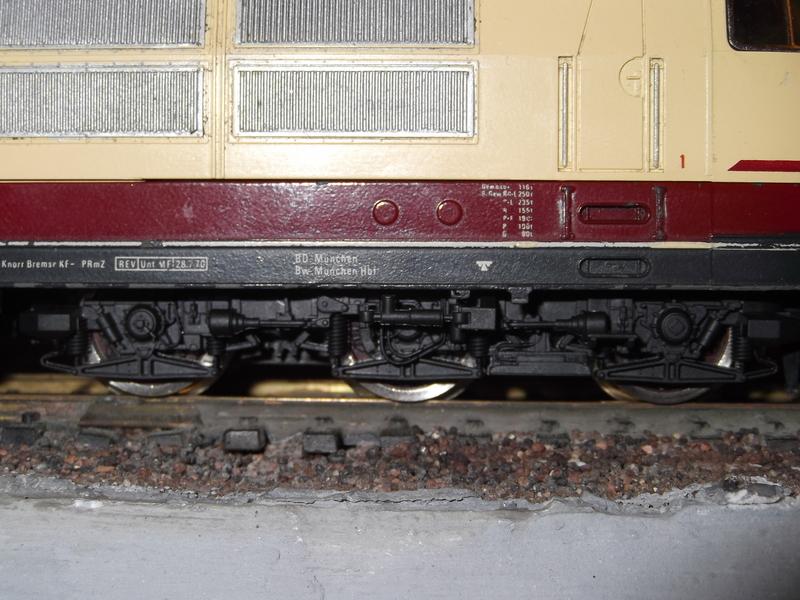 DB 103 118 - 6, Die schnellste Lok der Deutschen Bundesbahn Dscf0690v9b4x