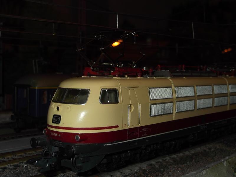 DB 103 118 - 6, Die schnellste Lok der Deutschen Bundesbahn Dscf069112az1