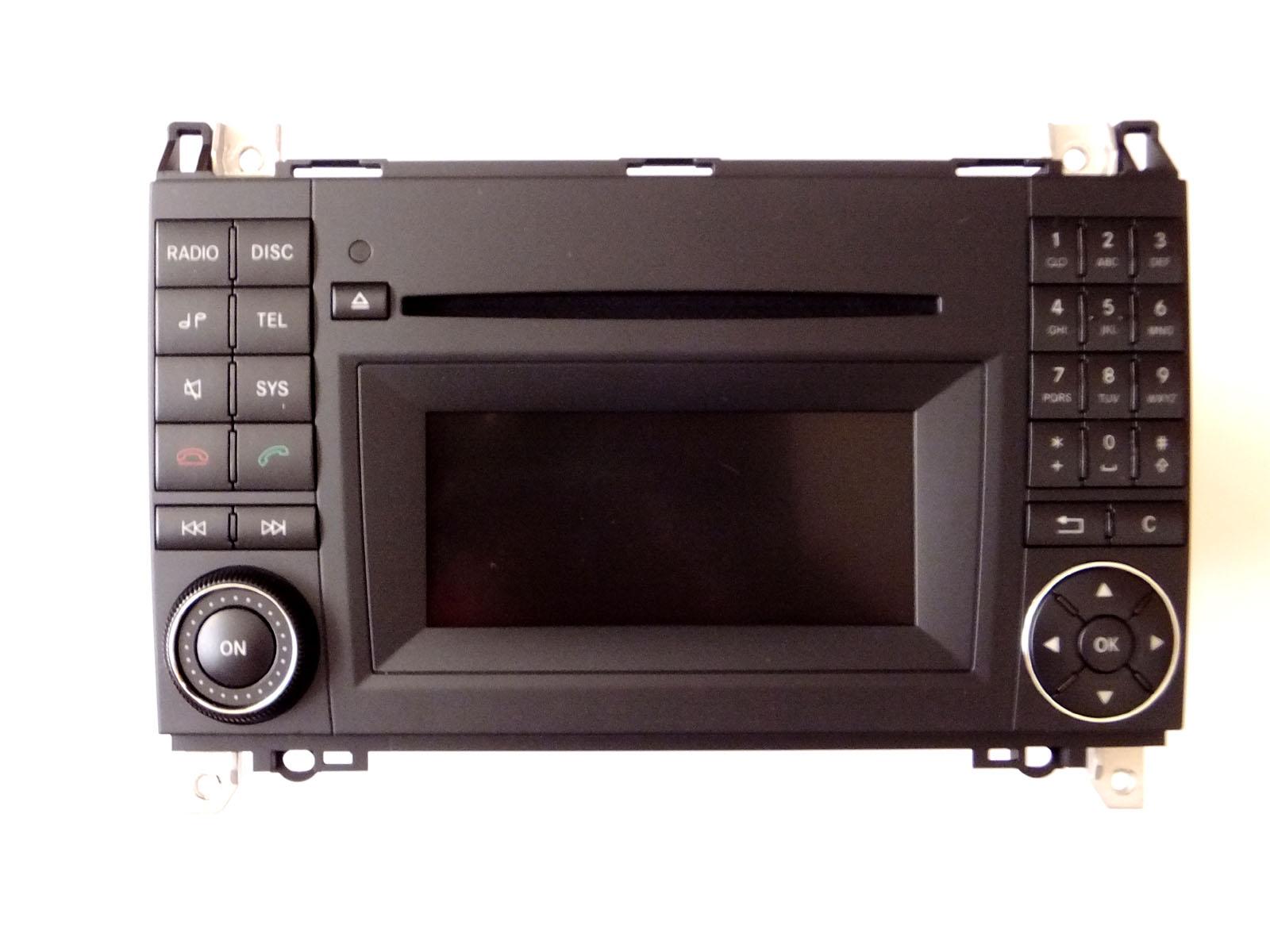 mercedes benz radio audio 20 cd ntg 2 5 a klasse w169 b. Black Bedroom Furniture Sets. Home Design Ideas