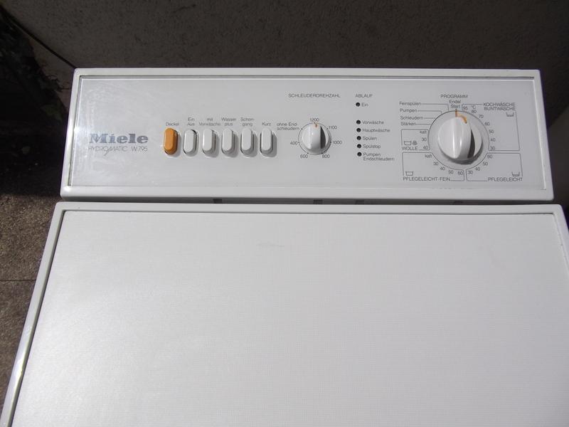 waschmaschine miele w795 hydromatic toplader 1200 u min ebay. Black Bedroom Furniture Sets. Home Design Ideas