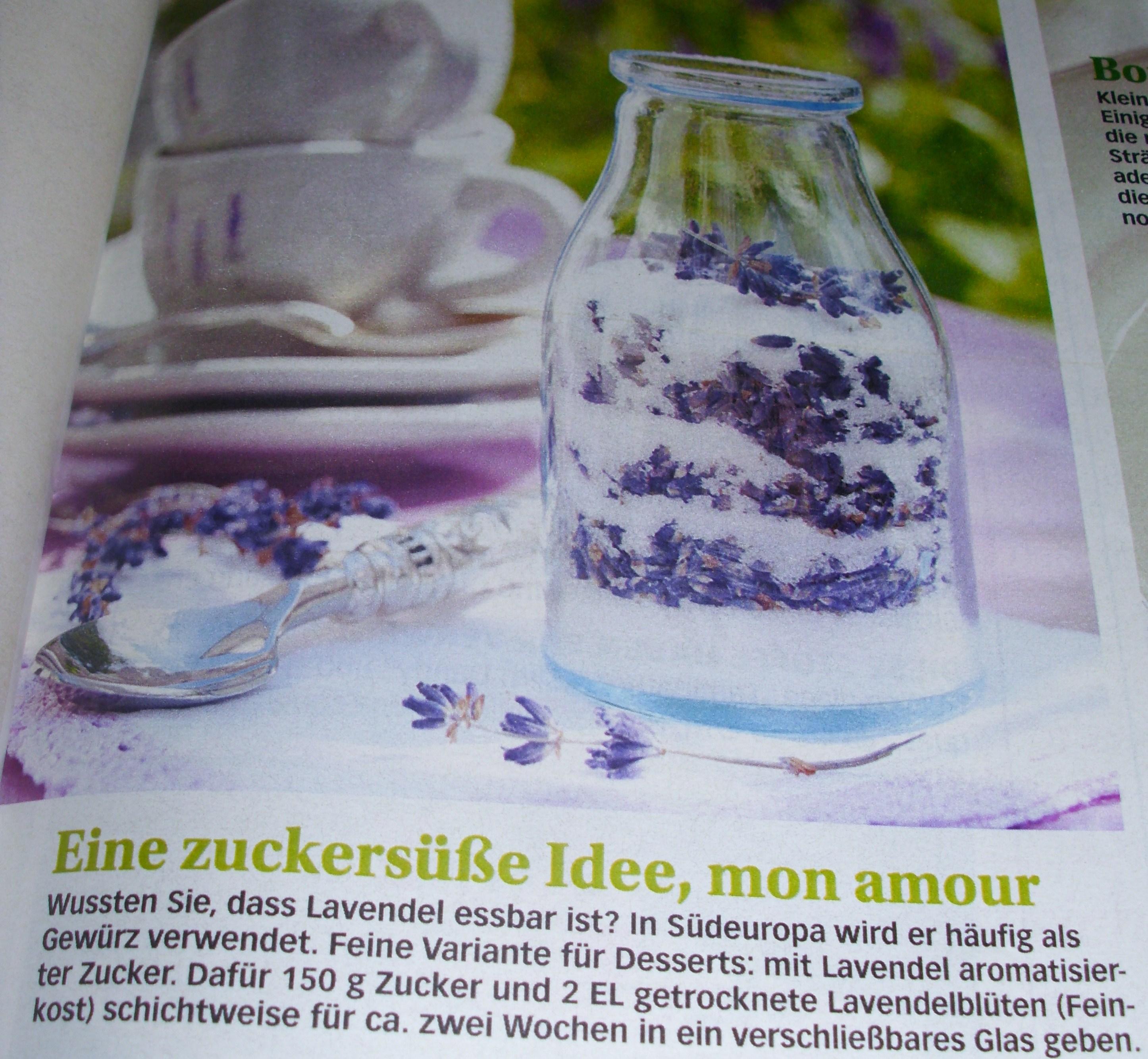 lady s produkttests zaubern mit lavendel. Black Bedroom Furniture Sets. Home Design Ideas