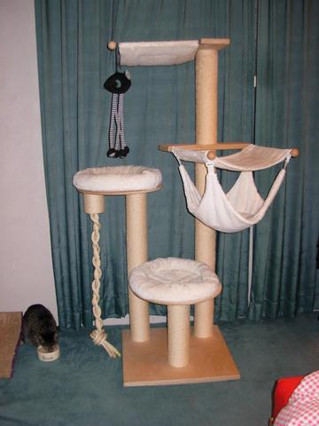 stabile vollholz katzen kratzb ume kratzbaum ersatzteile. Black Bedroom Furniture Sets. Home Design Ideas