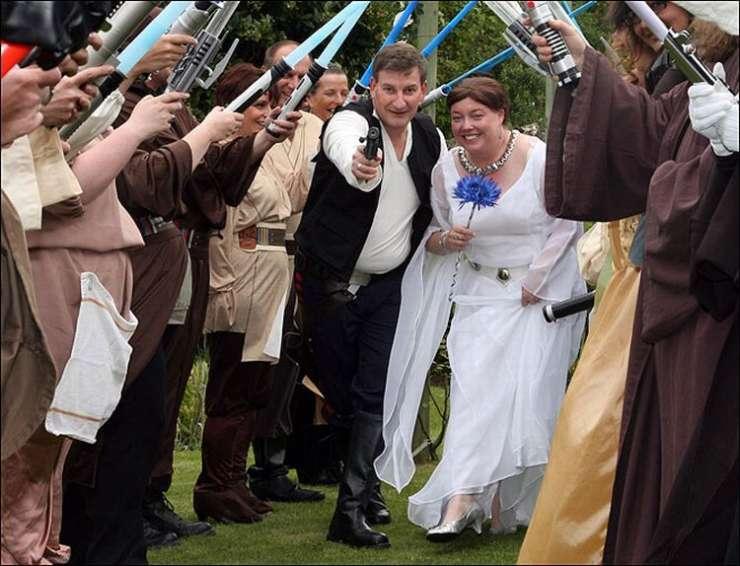 Ślub w stylu Star Wars 4