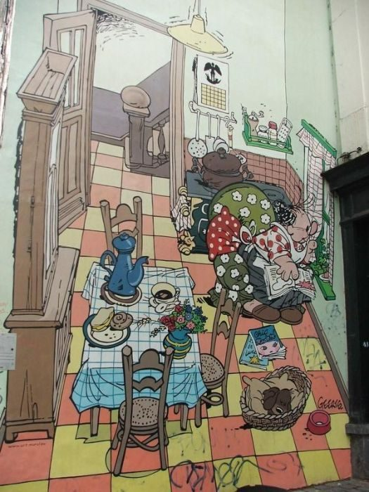 Street Art: Belgia 7