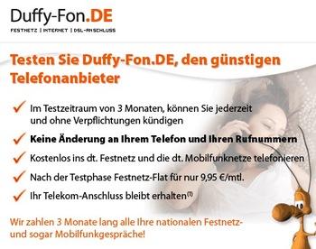 Duffy Angebot Spezial