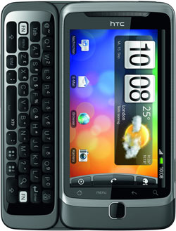 ebay WOW?: HTC Desire Z - Android Smartphone mit QWERTZ Tastatur für nur 259€ inkl. Versand!