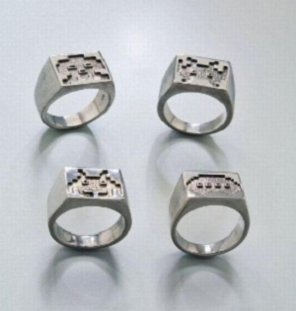 Nietypowe pierścionki 33
