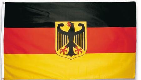 ebay: 90x150cm große Deutschlandfahne mit Adler für nur 3,95€ inkl. Versand! - Europameister!