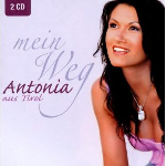 Cover Album of Antonia Aus Tirol-Mein Weg-2Cd-De-2010