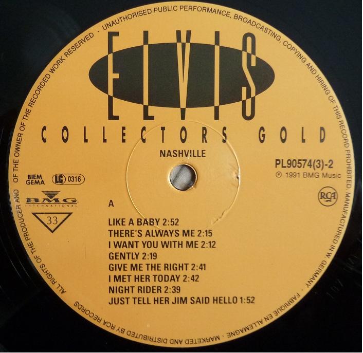 COLLECTORS GOLD Ecg91lp2labeliquf5