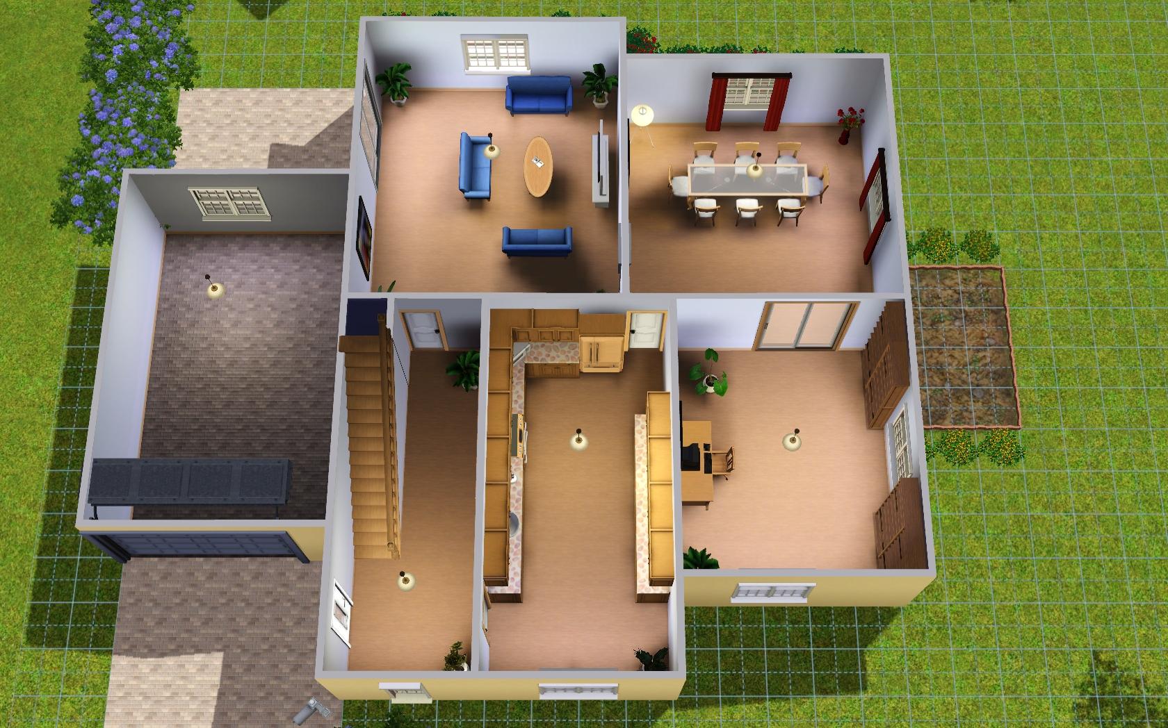 Contest) Baut ein Großfamilienhaus - Das große Sims 3 Forum von ...