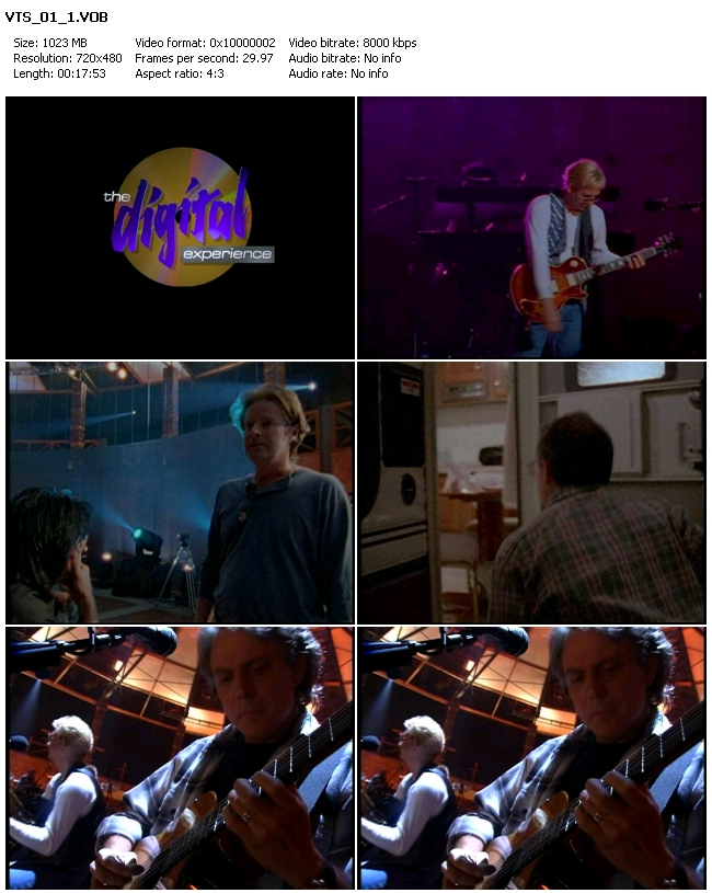 Eagles: Hell Freezes Over (1994) DVD9