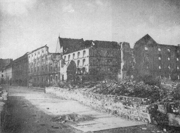 Wrocław  1945 Zniszczenia 27