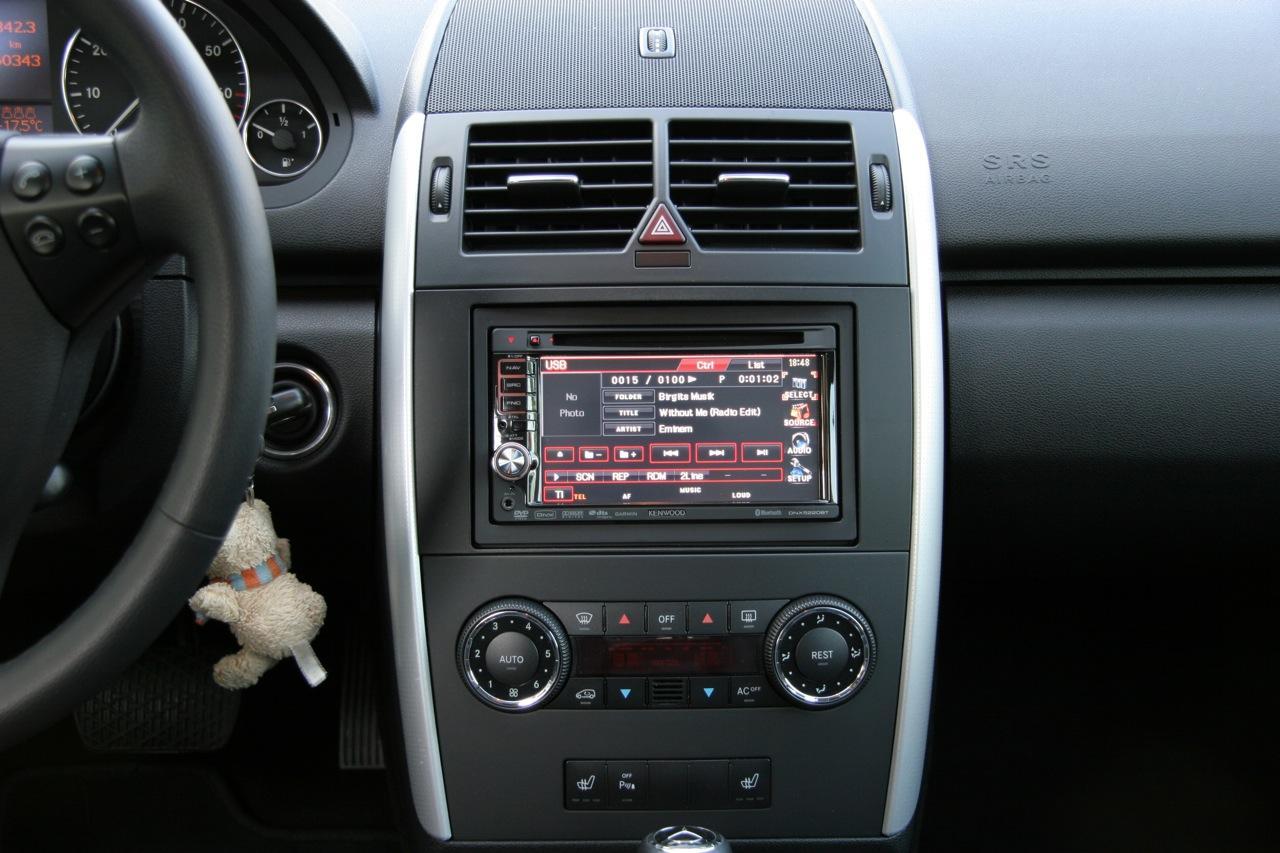 Mercedes B Klasse Autoradio Audio  Din Blende