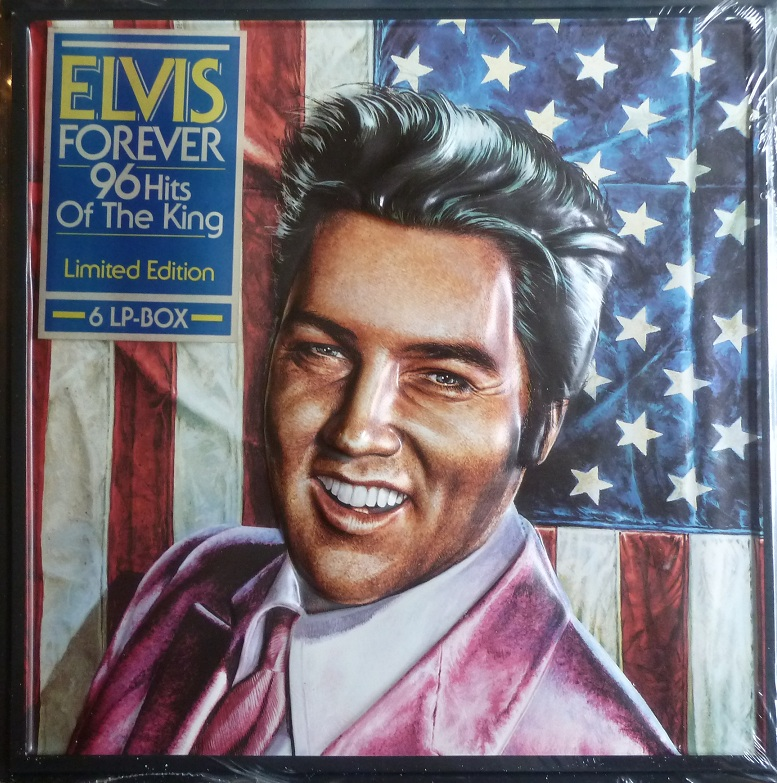 ELVIS FOREVER - 96 HITS OF THE KING Elvisforever96afrontstfcj
