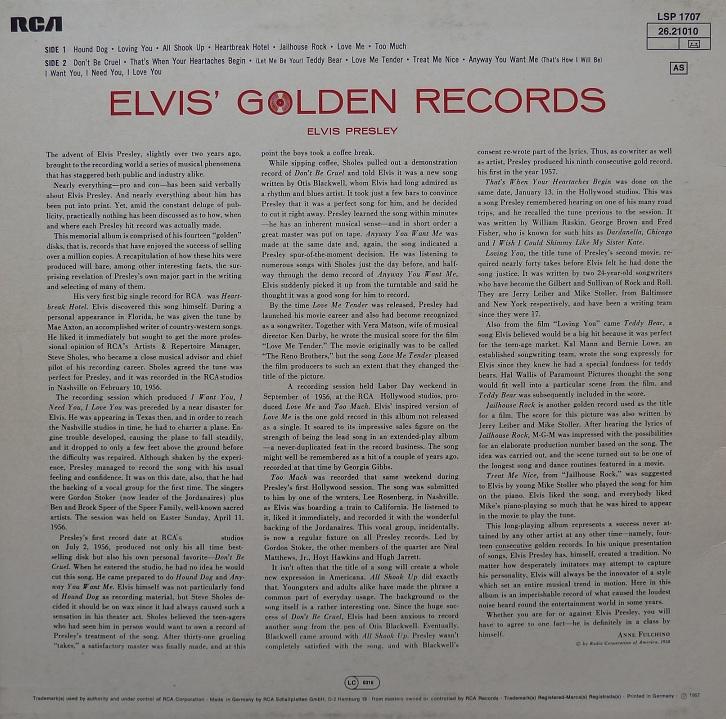 ELVIS' GOLDEN RECORDS Elvisgoldenrecords77r87xga