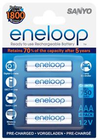 ebay: Sanyo Eneloop 8x AAA-Batterien für nur 14,15€ – aktuelle Generation HR-4UTGB