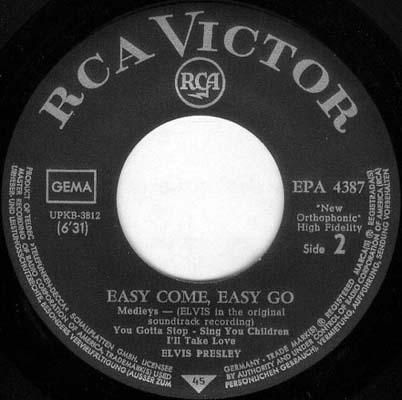 EASY COME EASY GO Epa-4387-4viugy