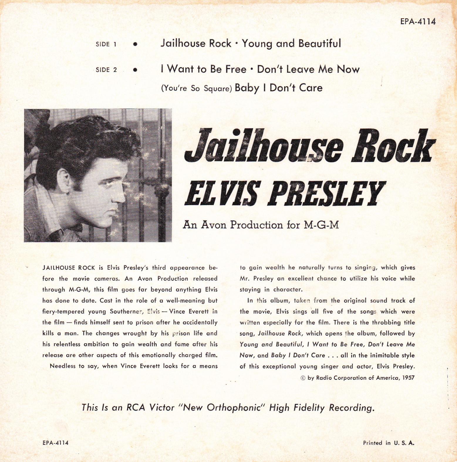 JAILHOUSE ROCK Epa4114bbnk3x