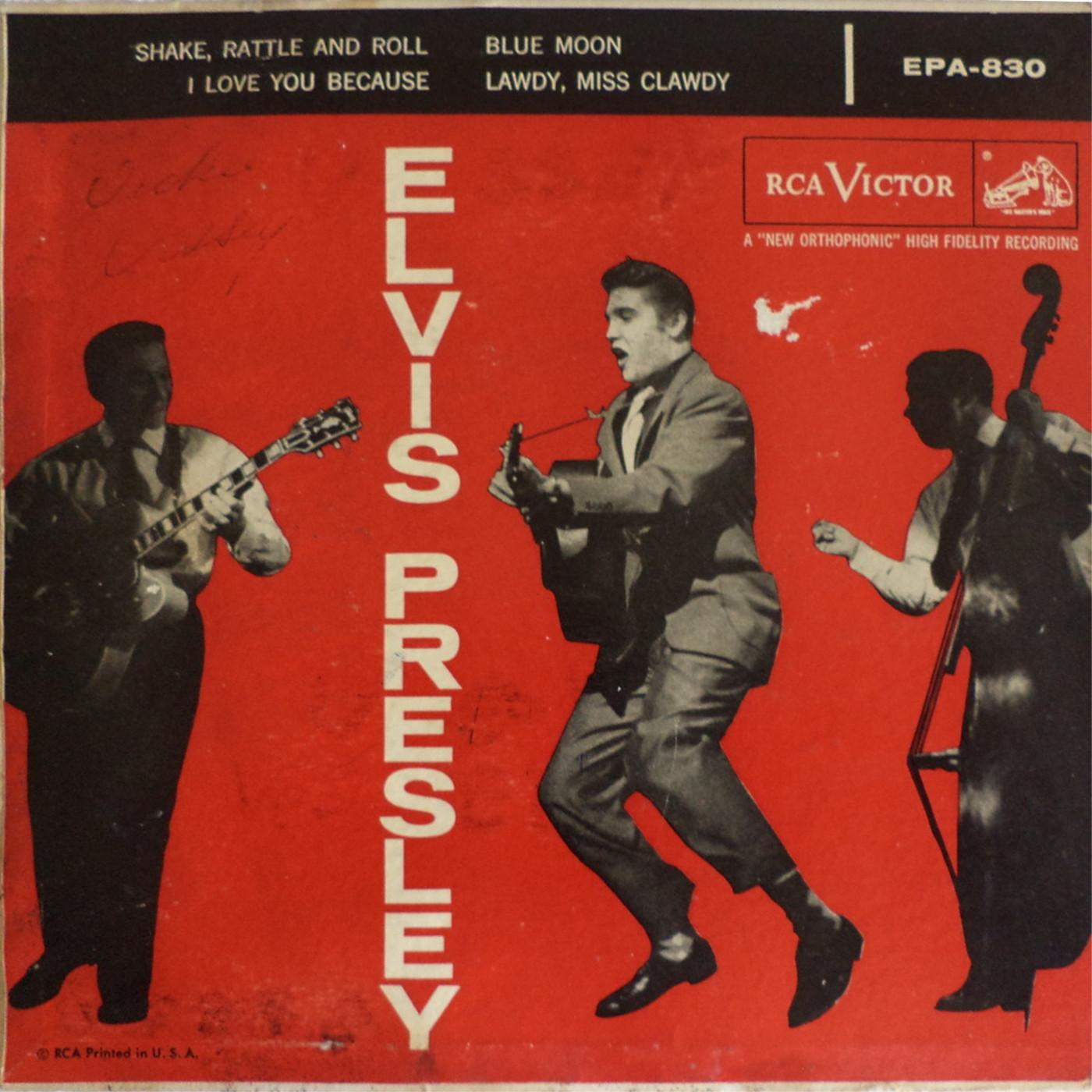 Presley - ELVIS PRESLEY Epa830agnjuo