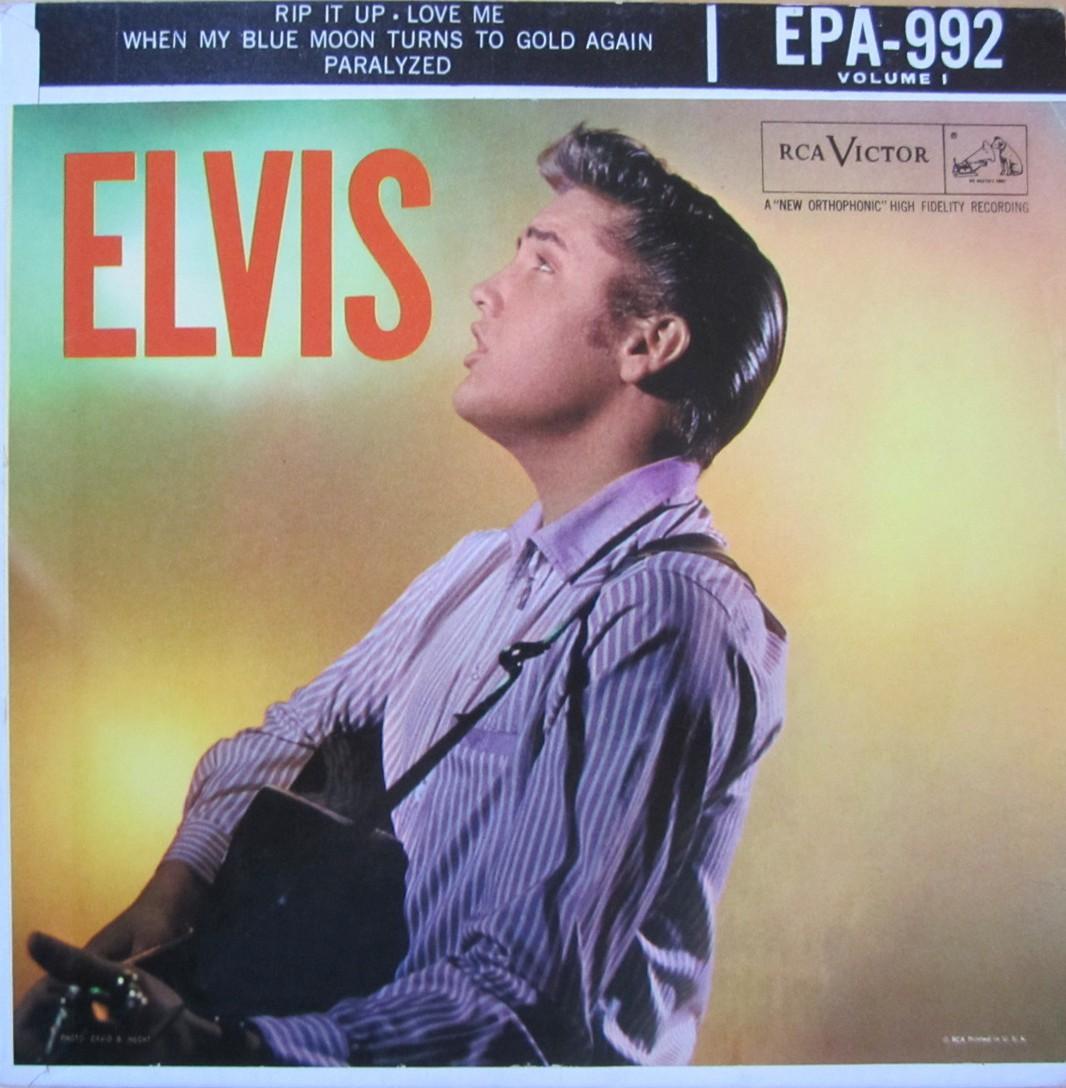 ELVIS VOL. 1 Epa992e0usz1