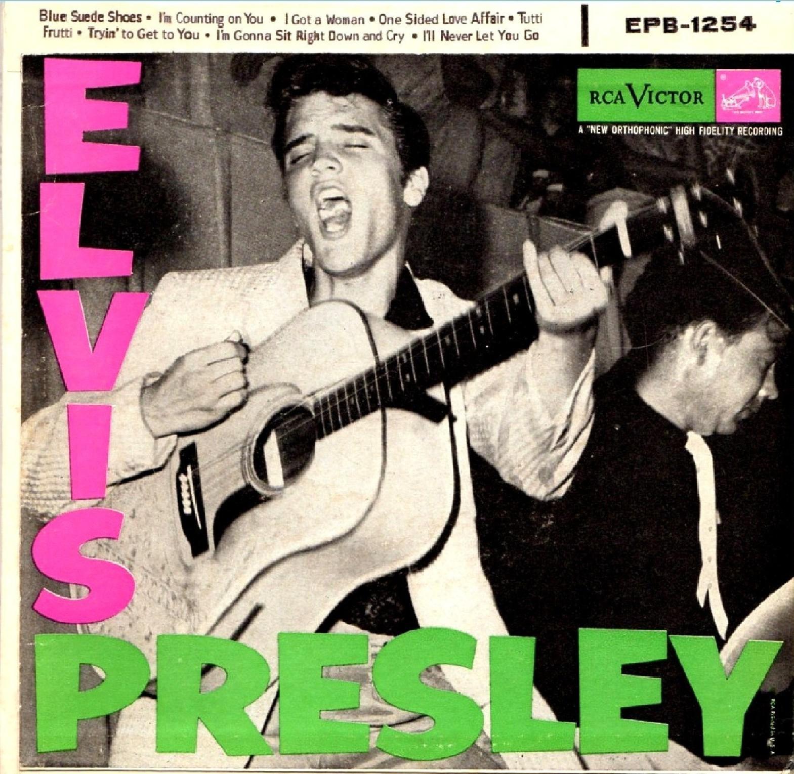 Presley - ELVIS PRESLEY Epb-1254a1bywr