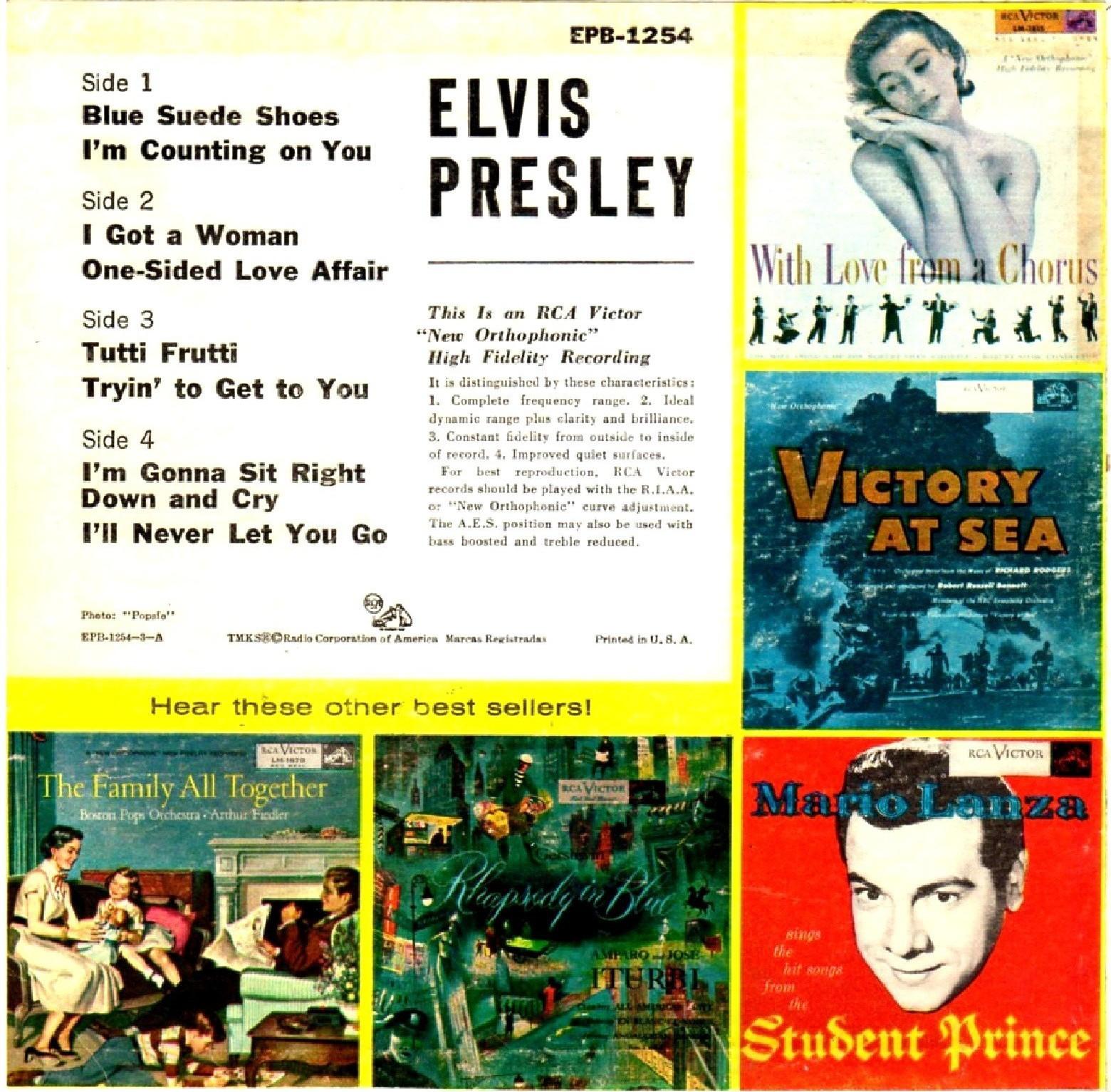 Presley - ELVIS PRESLEY Epb-1254bi9agr
