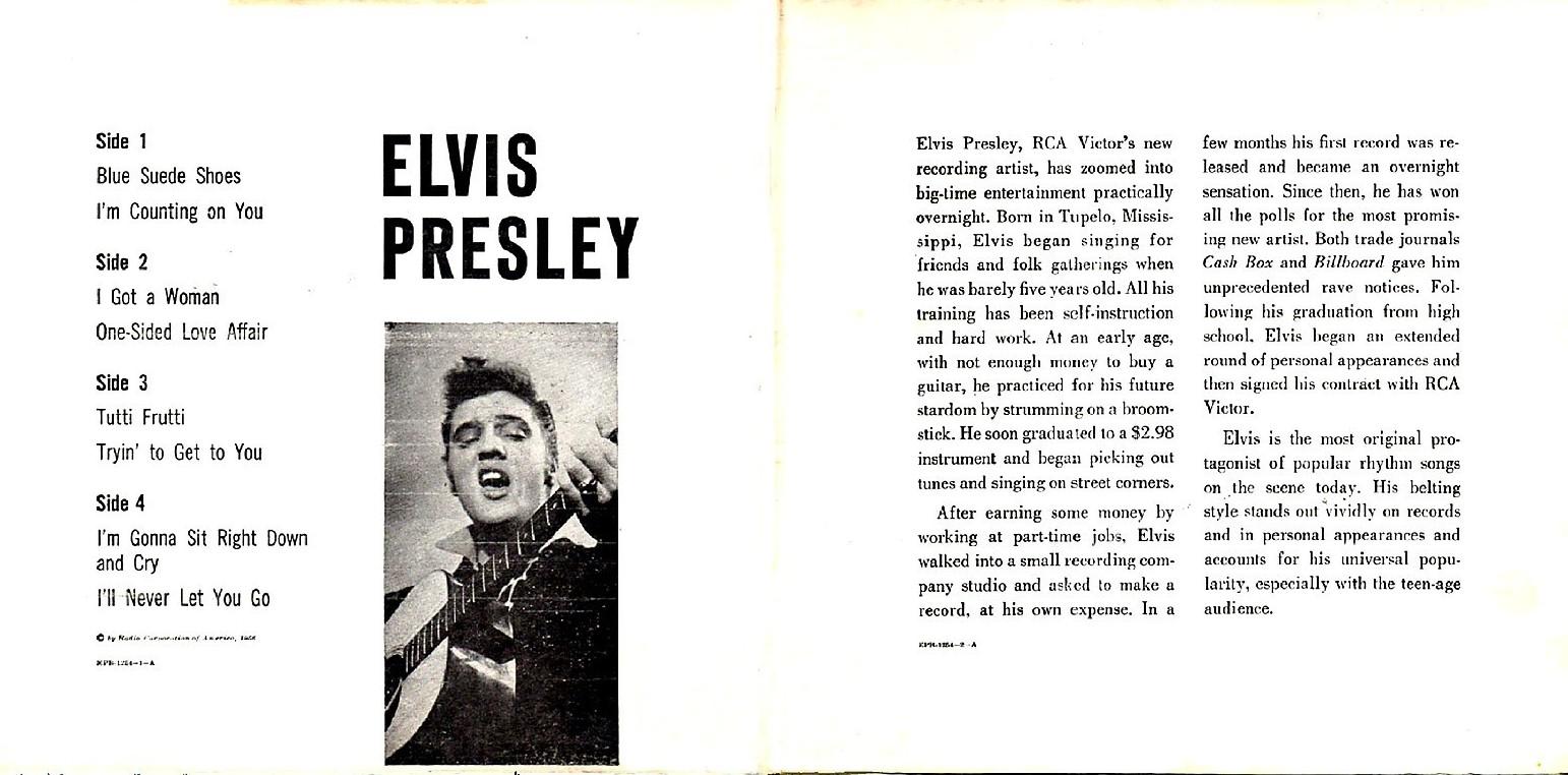 Presley - ELVIS PRESLEY Epb-1254cjyb0y